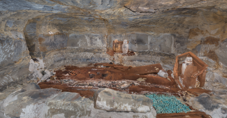 Didibastet burial chamber with shawabtis_Loc9_P2